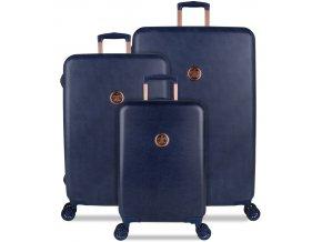 Sada cestovních kufrů SUITSUIT® TR-1235/3 - Raw Denim  + PowerBanka nebo pouzdro zdarma