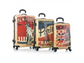 Heys Vintage Traveler S,M,L – sada 3 kufrů  + PowerBanka nebo pouzdro zdarma