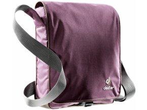 Deuter Roadway aubergine-brown - taška přes rameno