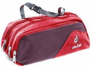 Deuter Wash Bag Tour II fire-aubergine - toaletní taška