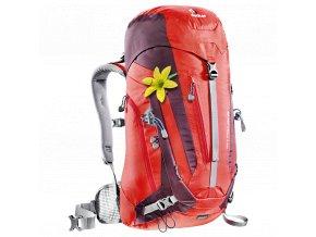 Deuter ACT Trail 28 SL fire-aubergine - Batoh  + PowerBanka nebo pouzdro zdarma