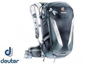 Deuter Compact EXP 16 black-granite - Batoh  + PowerBanka nebo pouzdro zdarma