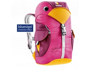 Deuter Kikki magenta-blackberry - Dětský batůžek