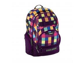 Školní batoh Coocazoo CarryLarry2, Melange A Trois Pink  + PowerBanka nebo pouzdro zdarma