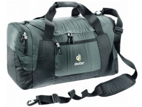 Deuter Relay 40 granite-black - cestovní taška  + Pouzdro zdarma