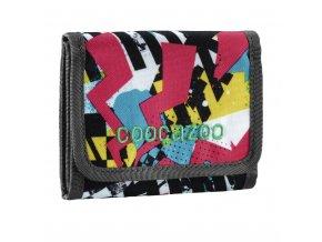 Peněženka CoocaZoo CashDash, Checkered Bolts