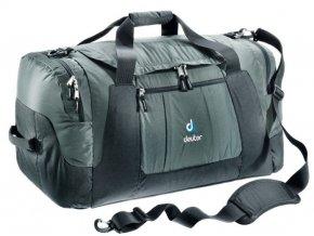 Deuter Relay 80 granite-black - cestovní taška  + PowerBanka nebo pouzdro zdarma