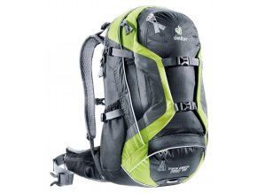 Deuter Trans Alpine Pro 28 black-kiwi - Batoh  + PowerBanka nebo pouzdro zdarma
