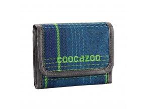 Peněženka CoocaZoo CashDash, Walk The Line Lime