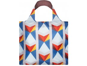 LOQI GEOMETRIC triangles reuseable shopping bag GE.TR 1
