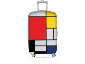LOQI Cover M PIET MONDRIAN Composition Luggage