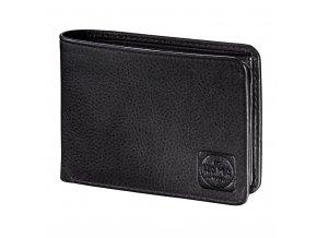 Pánská kožená peněženka s ochranou dat CRYPTALOY H2C, HAMA 1923 Amsterdam, černá