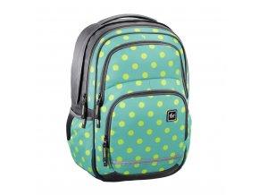 Školní batoh All Out Blaby, Mint Dots  + Pouzdro zdarma