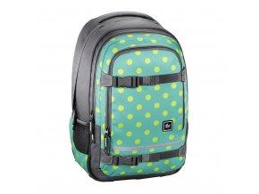 """Školní batoh All Out """"Selby"""" Backpack, Mint Dots  + Pouzdro zdarma"""