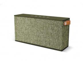 FRESH ´N REBEL Rockbox Chunk Fabriq Edition Bluetooth reproduktor, vojensky zelený  + Pouzdro zdarma