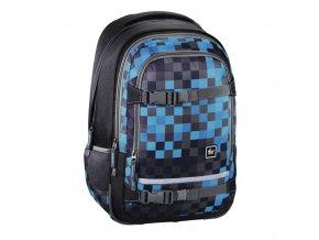 """Školní batoh All Out """"Selby"""" Backpack, Blue Pixel  + Pouzdro zdarma"""