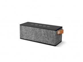 FRESH ´N REBEL Rockbox Brick Fabriq Edition Bluetooth reproduktor, šedý  + Pouzdro zdarma