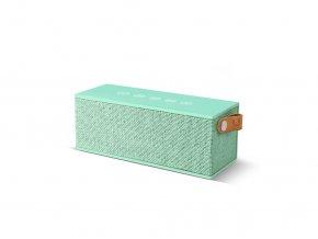 FRESH ´N REBEL Rockbox Brick Fabriq Edition Bluetooth reproduktor, světle zelený  + Pouzdro zdarma