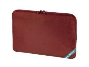 """Hama """"Velour"""" notebook obal, 40 cm (15.6""""), červená"""