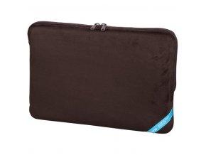 "Hama ""Velour"" notebook obal, 40 cm (15.6""), hnědá"