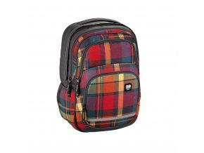 Školní batoh All Out Blaby, Woody Orange  + Pouzdro zdarma