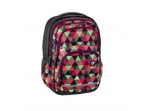 Školní batoh All Out Blaby, Happy Triangle  + Pouzdro zdarma