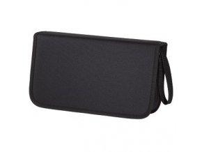 Hama pouzdro CD Wallet Nylon 104, barva černá