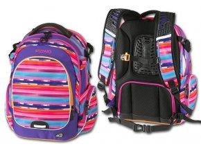 Studentský batoh Wizzard Purple  + Pouzdro zdarma