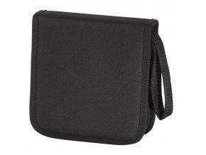 HAMA Pouzdro CD Wallet Nylon 32, barva černá