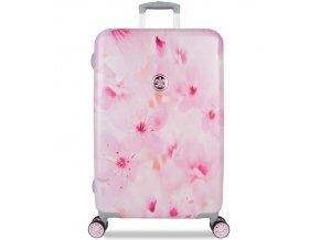 Cestovní kufr SUITSUIT® TR-1224/3-M - Sakura Blossom  + PowerBanka nebo pouzdro zdarma