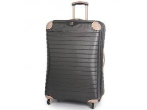 Cestovní kufr IT Luggage TR-1036/3-XL ABS - charcoal  + PowerBanka nebo pouzdro zdarma