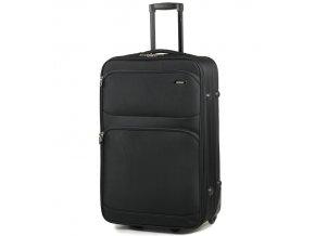Cestovní kufr MEMBER'S TR-0135/4-60 - černá   + Pouzdro zdarma