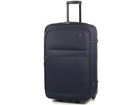 Cestovní kufr MEMBER'S TR-0135/4-60 - modrá   + Pouzdro zdarma