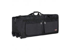 """Cestovní taška na kolečkách CITIES T-134/34"""" - černá"""