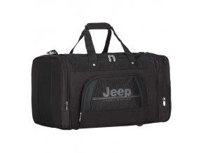 Cestovní taška JEEP 763 Deluxe - černá