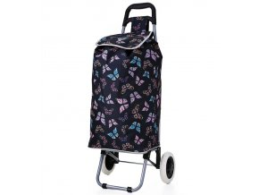 Nákupní taška na kolečkách HOPPA ST-105 - černá