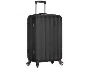 Cestovní kufr ICE T-1109/3-L ABS - černá  + PowerBanka nebo pouzdro zdarma