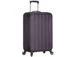 Kabinové zavazadlo ICE T-1109/3-S ABS - šedá  + PowerBanka nebo pouzdro zdarma