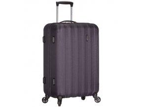 Cestovní kufr ICE T-1109/3-L ABS - šedá  + PowerBanka nebo pouzdro zdarma