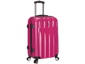 Cestovní kufr ICE T-1063/3-70 PC - růžová  + PowerBanka nebo pouzdro zdarma