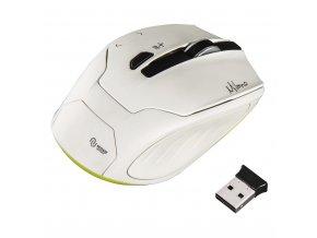Hama optická bezdrátová myš Milano, bílá