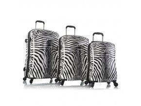 Heys Zebra S,M,L – sada 3 kufrů   + PowerBanka nebo pouzdro zdarma