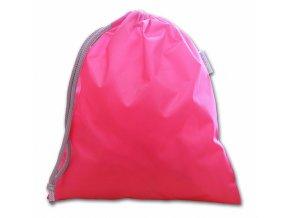 Školní sáček růžová