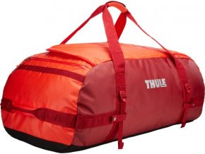 Thule Chasm 130 l cestovní taška CHASM130RO - oranžová/červená  + PowerBanka nebo pouzdro zdarma