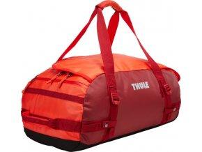 Thule Chasm 40 l cestovní taška CHASM40RO - oranžová/červená  + PowerBanka nebo pouzdro zdarma