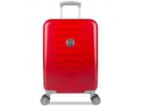 Kabinové zavazadlo SUITSUIT® TR-1239/3-S - Red Diamond Crocodile  + PowerBanka nebo pouzdro zdarma