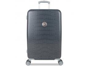 Cestovní kufr SUITSUIT® TR-1238/3-M - Grey Diamond Crocodile  + PowerBanka nebo pouzdro zdarma