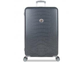 Cestovní kufr SUITSUIT® TR-1238/3-L - Grey Diamond Crocodile  + PowerBanka nebo pouzdro zdarma