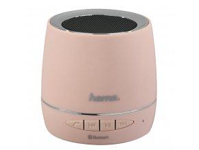 Hama Mobile Bluetooth Speaker, light rose