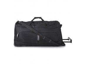 """Cestovní taška na kolečkách CITIES T-602/27"""" - černá"""
